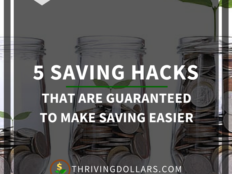 Simple Saving Hacks